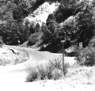 Ice House Road was the planned ransom drop site.<br />Birges intended to meet a helicopter carrying $3 million<br /> in The mountainous area north of U.S. Highway 50.